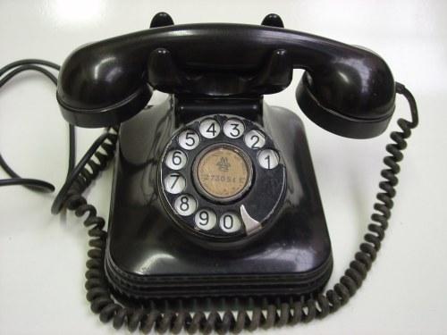Telefone de baquelite década de 40 - 1