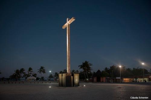 ILUMINAÇÃO DA CRUZ DE SANTA CRUZ CABRÁLIA - BAHIA (FERNANDO PORTELLA/ZECA)